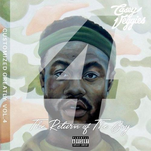Casey Veggies - Customized Greatly Vol. 4: The Return Of The Boy Album Cover