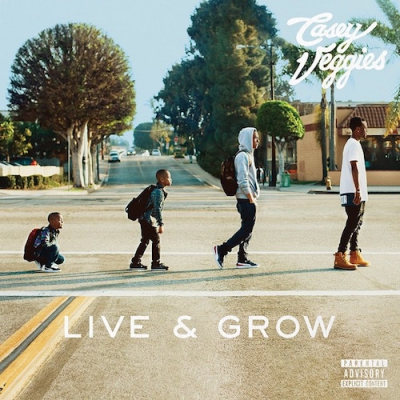 Casey Veggies - Live & Grow Album Cover