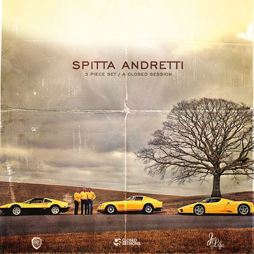 Closed Sessions x Curren$y - 3 Piece Set EP Album Cover