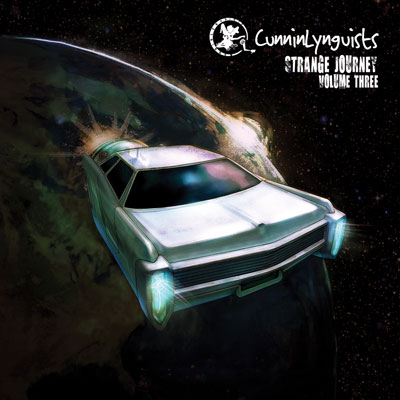 CunninLynguists - Strange Journey (Volume Three) Album Cover