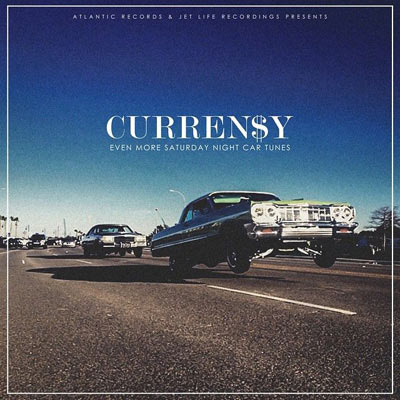 Curren$y - Even More Saturday Night Car Tunes Album Cover