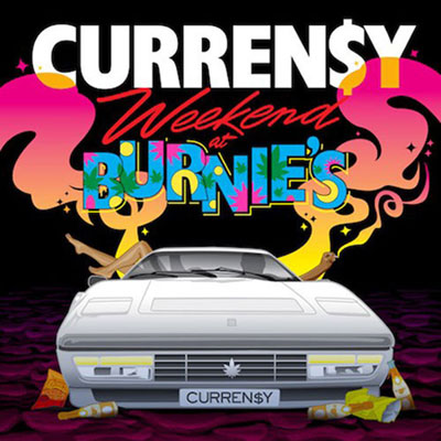 Curren$y - Weekend at Burnie's Cover