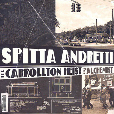 Curren$y x The Alchemist - The Carrollton Heist Album Cover