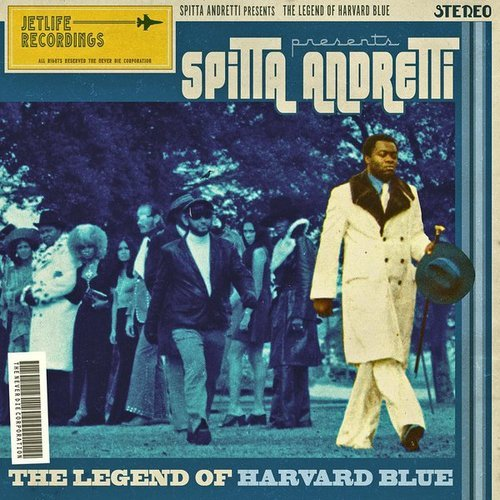Curren$y - The Legend of Harvard Blue Album Cover