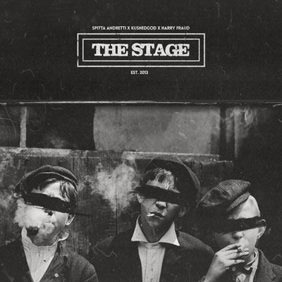 Curren$y x Smoke DZA - The Stage EP Cover