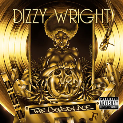 Dizzy Wright - The Golden Age Cover