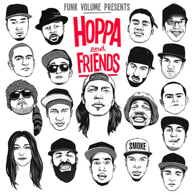 DJ Hoppa - Hoppa & Friends Cover