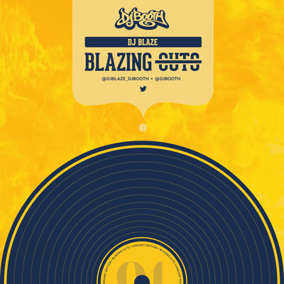 DJ Blaze - Blazing Cuts (January 2015) Cover
