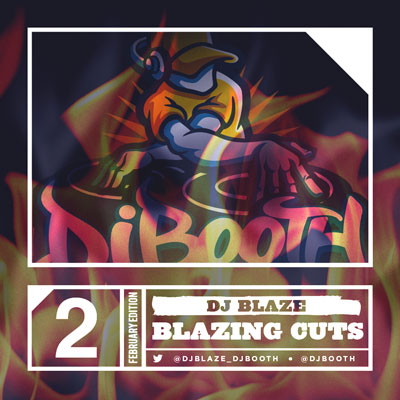 DJ Blaze - Blazing Cuts (February 2014) Cover
