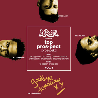The DJBooth - Top Prospects EP (Vol. 5) Album Cover
