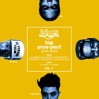 The DJBooth - Top Prospects EP (Vol. 4) Album Cover
