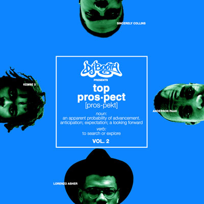 The DJBooth Top Prospects EP (Vol. 2) Cover
