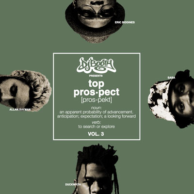 The DJBooth - Top Prospects EP (Vol. 3) Album Cover
