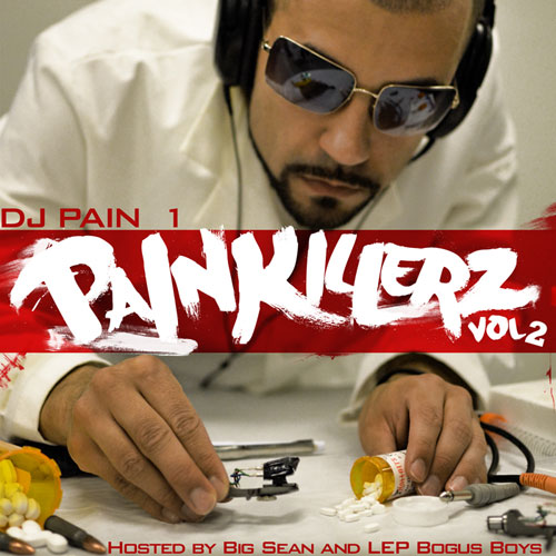 DJ Pain 1 - Painkillerz (Vol. 2) Album Cover