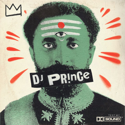 DJ Prince - Test My Sound LP Album Cover