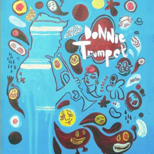 Donnie Trumpet - Donnie Trumpet EP Cover