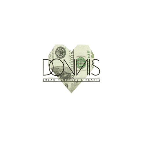 Donnis - Break Hundreds & Hearts EP Cover