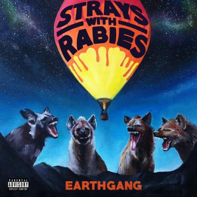 EarthGang - Strays With Rabies Album Cover