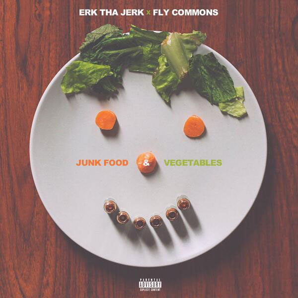 Erk Tha Jerk - Junk Food & Vegetables EP Album Cover