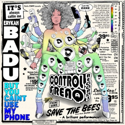 Erykah Badu - BUT YOU CAINT USE MY PHONE Album Cover