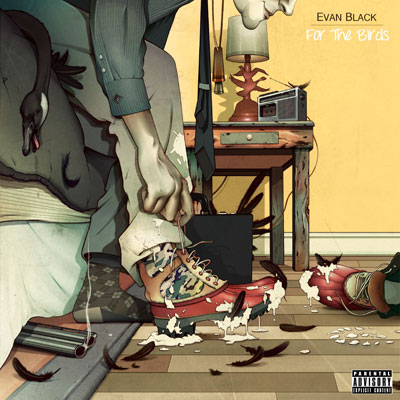 Evan Black - For the Birds Album Cover