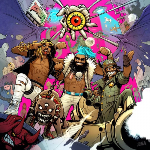 Flatbush ZOMBiES - 3001: A Laced Odyssey Album Cover