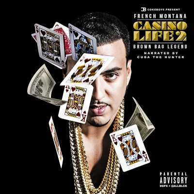 French Montana - Casino Life 2: Brown Bag Legend Album Cover