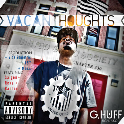G.Huff - Vacant Thoughts EP Album Cover