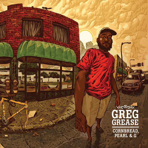 Greg Grease - Cornbread, Pearl & G Cover