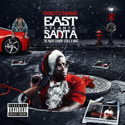 Gucci Mane - East Atlanta Santa 2: The Night Guwop Stole X-Mas Album Cover