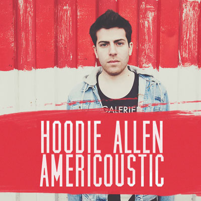 Hoodie Allen - Americoustic EP Cover