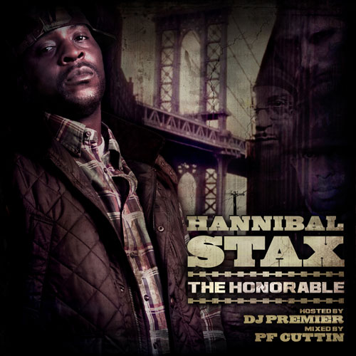 Hannibal Stax - The Honorable Mixtape Cover