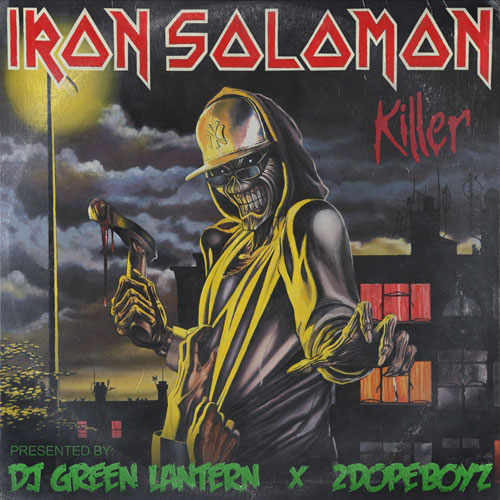 Iron Solomon - Killer Album Cover