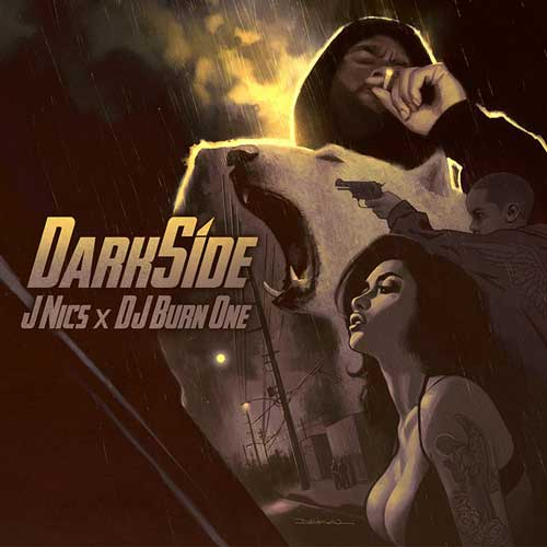 J NICS x DJ Burn One - Darkside Cover