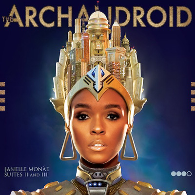 Janelle Monae - The ArchAndroid Cover