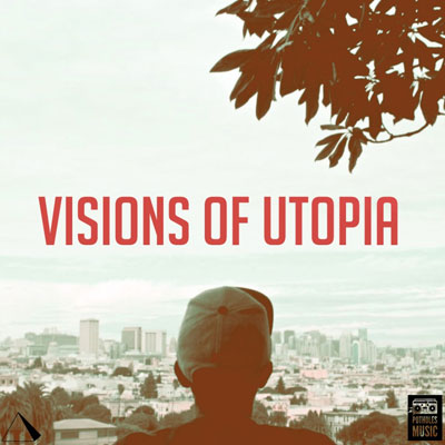 Jay Cue - Visions of Utopia Album Cover
