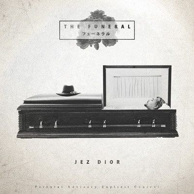 Jez Dior - The Funeral EP Album Cover