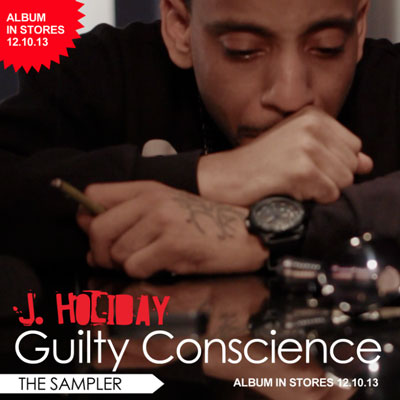 J. Holiday - Guilty Conscience (Sampler) Album Cover