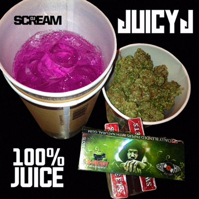 Juicy J - 100% Juice Album Cover