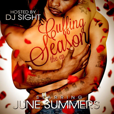 June Summers - Cuffing Season (The EP) Cover