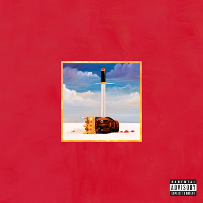 Kanye West - My Beautiful Dark Twisted Fantasy Cover