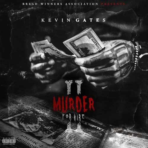 Kevin Gates - Murder For Hire 2 Album Cover