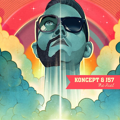 Koncept & J57 - The Fuel EP Album Cover