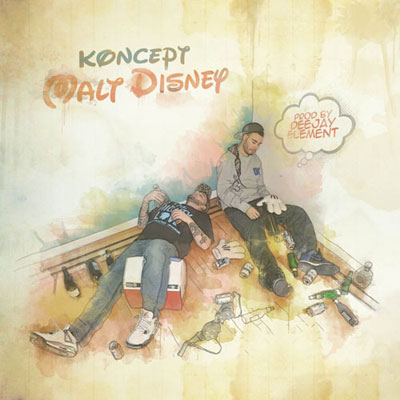 Koncept - Malt Disney EP Cover