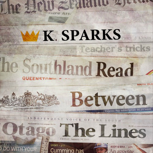 K. Sparks - Read Between the Lines Cover