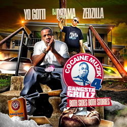 DJ Drama & Yo Gotti - Cocaine Muzik 4: Both Sides Both Stories Cover