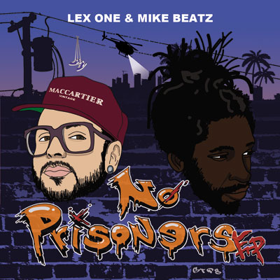 Lex One x Mike Beatz - No Prisoners Album Cover