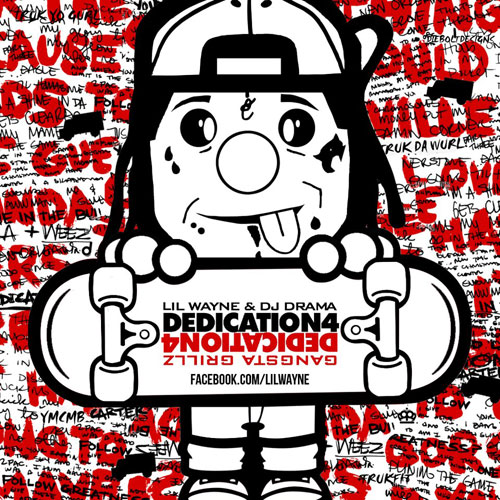 Lil Wayne - Dedication 4 Cover