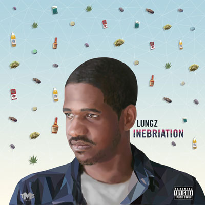 Lungz - Inebriation Album Cover