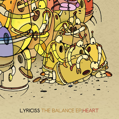 Lyriciss - The Balance EP: Heart Album Cover